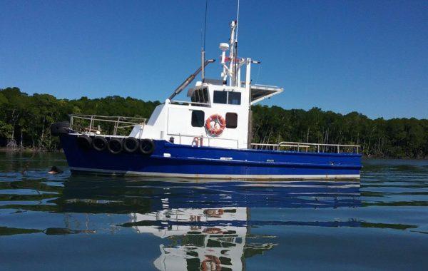 12 mtr Steel Work Boat
