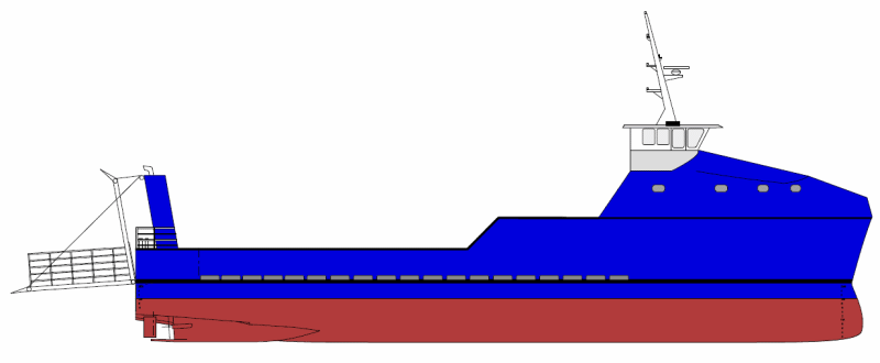 New Build 35 Aluminium Cargo vessel