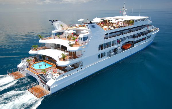 Boutique 60 mtr. Catamaran Cruise Ship