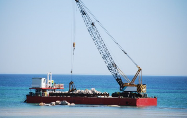 Heavy Crane Barge – For Charter