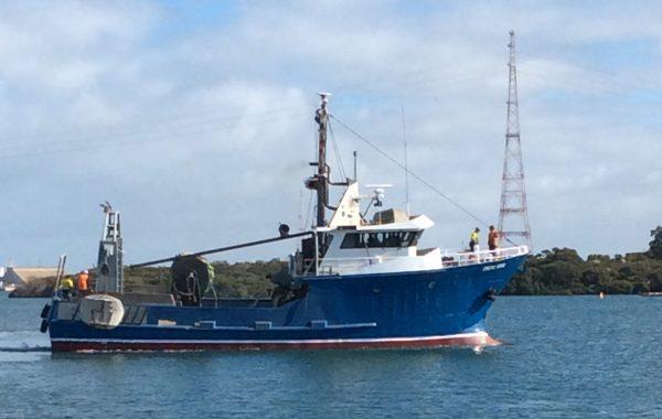 Stern Trawler Fishing Boat