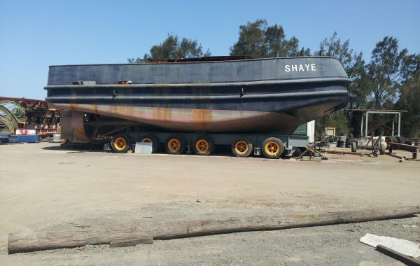 HARBOUR TUG HULL ONLY WITH PLANS