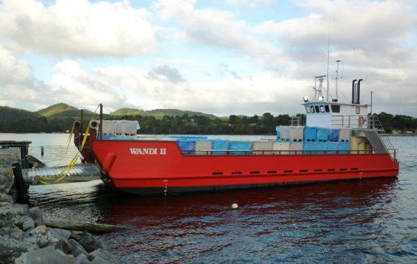 Landing Barge For Charter